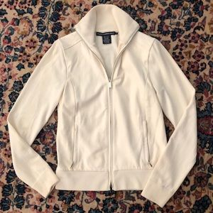 Ralph Lauren Golf Sm leather and cashmere jacket